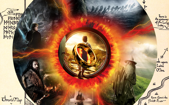 The Hobbit Wallpaper - An Unexpected Ring by 1love1jesus