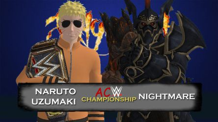 Judgment Day 2018 - ACW Championship by JoeyTribbiani125