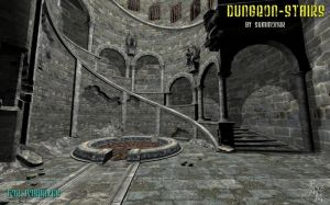 Dungeon stairs, by Summoner by FantasiesRealmMarket