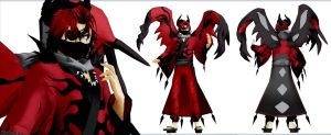 [MMD Pokemon] (NO DL) Gijinka Yveltal by Kinishan