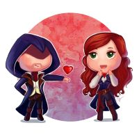 Arno loves Elise by PetraImboden