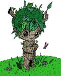 Sprout: Petrifern Familar Pathfinder Rpg by wonderfully-twisted