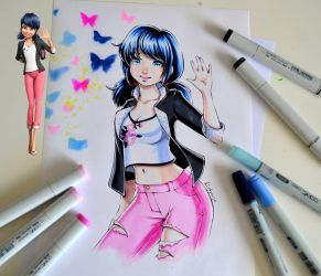 Marinette by Lighane