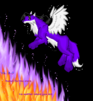 Flyin over Flames by Azealand