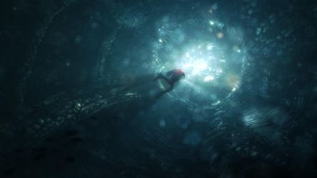 The Difference ... Cave Diver by inetgrafx