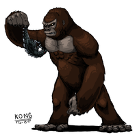 Godzilla Absolute - KONG - Outdated by ABSOLUTEWEAPON