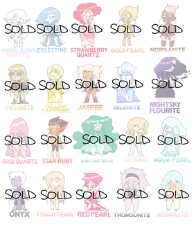 gemsona adopt (paypal and points) 0/20 -CLOSED- by raine-bot