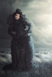Dark lady by CindysArt