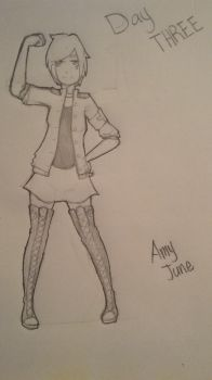 Amy June (Day Three) by phoogho