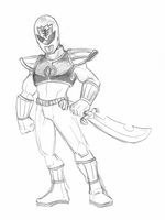 White Ranger by wheretheresawil