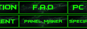 Twitch panels for a friend by KaffeMLG