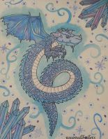 Dragon - Ice Inspiration by weareallbullets