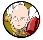 Interest Button - Saitama by TheInterestButtons