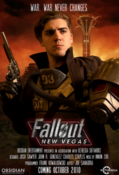 Fallout: New Vegas movie poster by MaxBdn