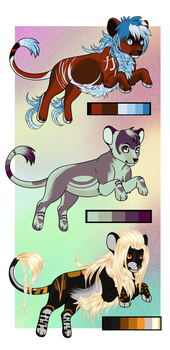 . Customs for Jahpan and Novakstiel . by Gii-Adoptables