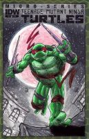 TMNT Raphael Sketch Cover by WEXAL