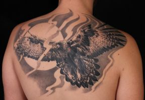 Golden eagle by viptattoo