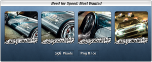 NFS Most Wanted Icon Pack by Th3-ProphetMan