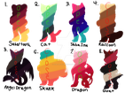 Mystery Adopts 3 (OPEN 4/8) by Kiwi-Archives