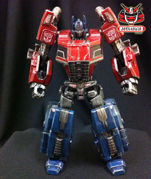 Transformers FOC : Optimus Prime Repaint 03 by wongjoe82