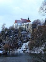 Winter Castle 1 by pelleron-stock