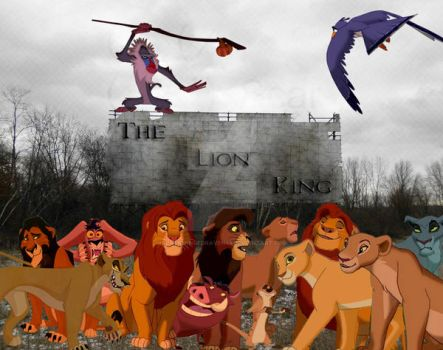 The Lion King by blackwingedraven45