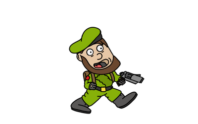 Leprechaun Soldier-QuickSketch by Mammouth55