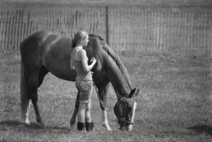 Girls and Horses by mtsofan