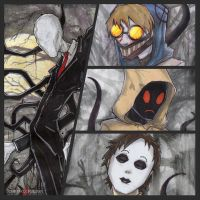 Slenderman and Proxies Creepypasta by ChrisOzFulton