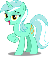Vector #242 - Lyra Heartstrings #2 by DashieSparkle