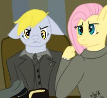 The Meeting ( a FlutterCommunist Request) Unshaded by Andyvc92