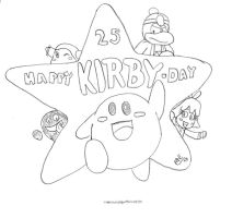 25 Years of Kirby by MrNintMan