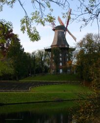 Breman Windmill by Schlyne