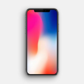 iPhone X Edition PSD by BluPaper