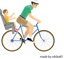 Happy Wheels Irresponsible Dad by nikiball1