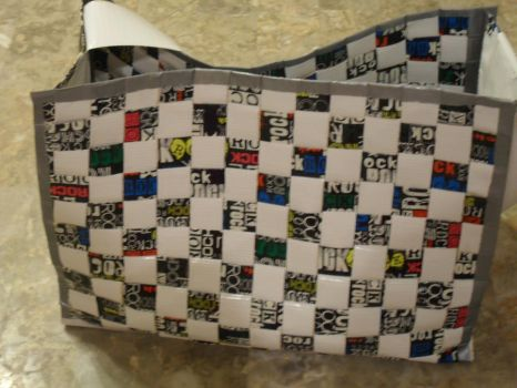 Duct Tape Purse by pasmea