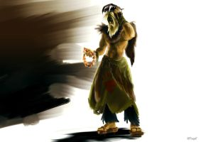 Udyr: there's a man behind the beast by nfouque