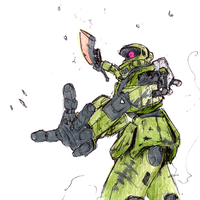 Zeon Alive by AlmightyNabeshin
