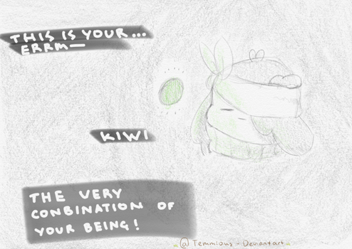 A wild kiwi has appeared by Temmious