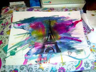 Paris en couleur by gaelle006