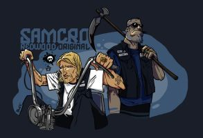 Sons Of Anarchy SAMCRO by ADN-z