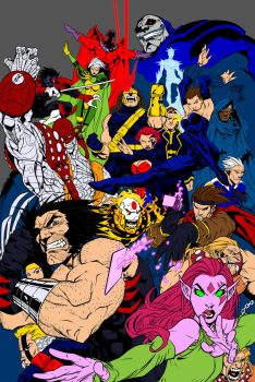 Age Of Apocalypse By Mattjamescomicarts by Lantheir