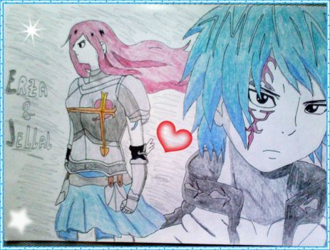 Erza And Jellal - Fairy Tale by LeanneArts