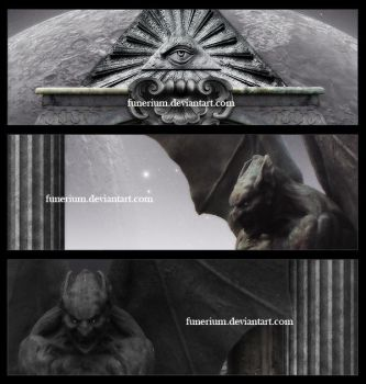 Cast in stone III -Details- by Funerium