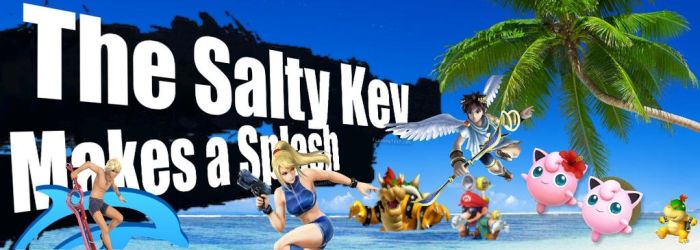 The Salty Key Twitch Channel Banner by Johndennis4209