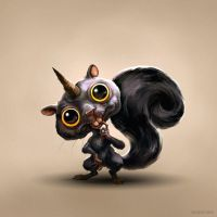 Squirrel of Death by Aeyolscaer