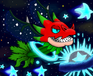 PvZ Heroes: Deep Space Dragonfruit by Gianluca850