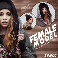 PNG PACK #7 - Female Model by rudimentarily