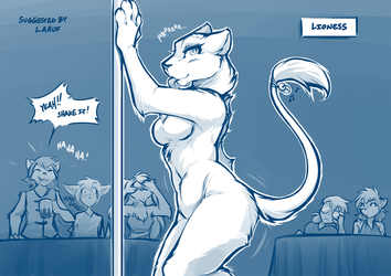Lioness by Twokinds