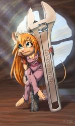 Gadget Hackwrench by Zombie-Graves